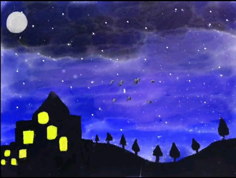 ✨ Luci nella notte ✨ – Alessandra
