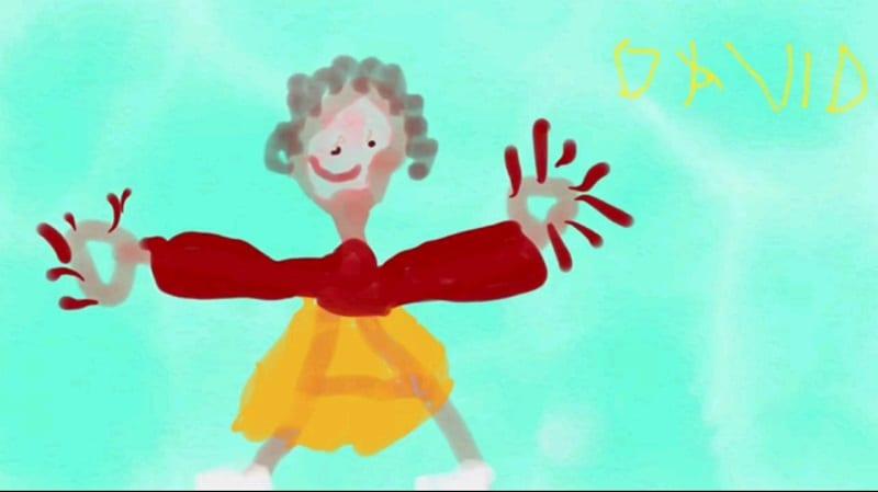 La mamma regina – David 6 anni