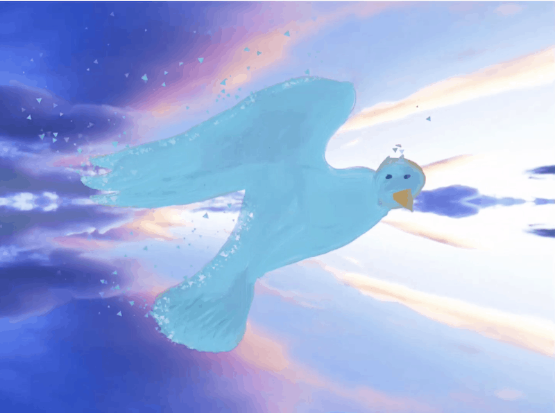 Il volo –  Giulia A. 10 anni