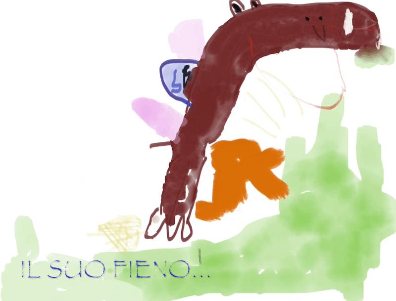 Il mio cavallo alato – Roberto 4 anni