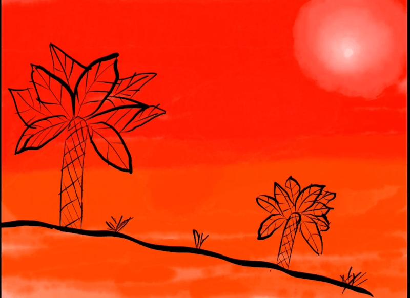 Tramonto rosso – Alessandra 12 anni