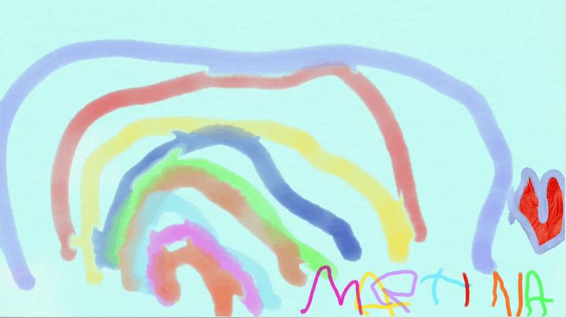 Arcobaleno – Martina 5 anni