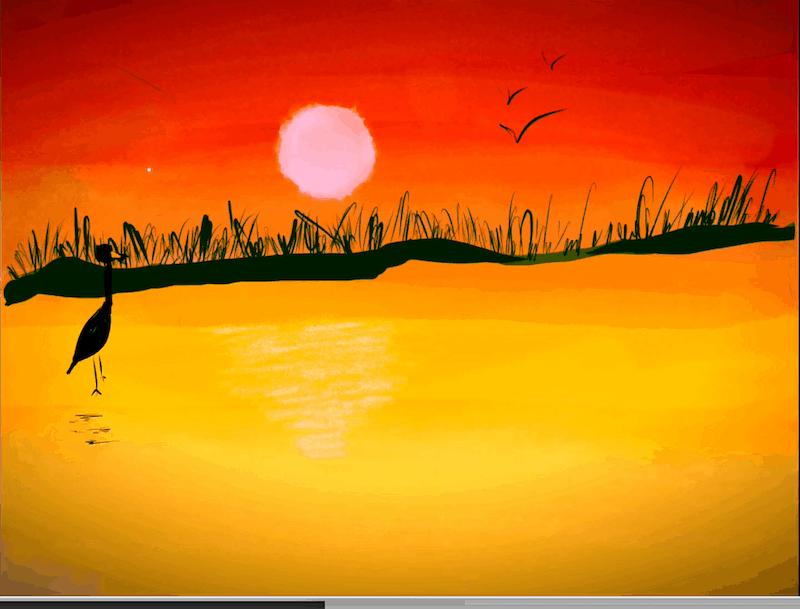 La bellezza del tramonto – Doha 10 anni