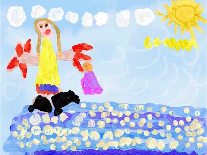 In un mare di conchiglie – Gemma 6 anni