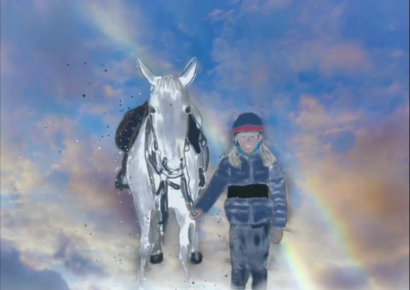 Io e Norita – Sofia V. 9 anni