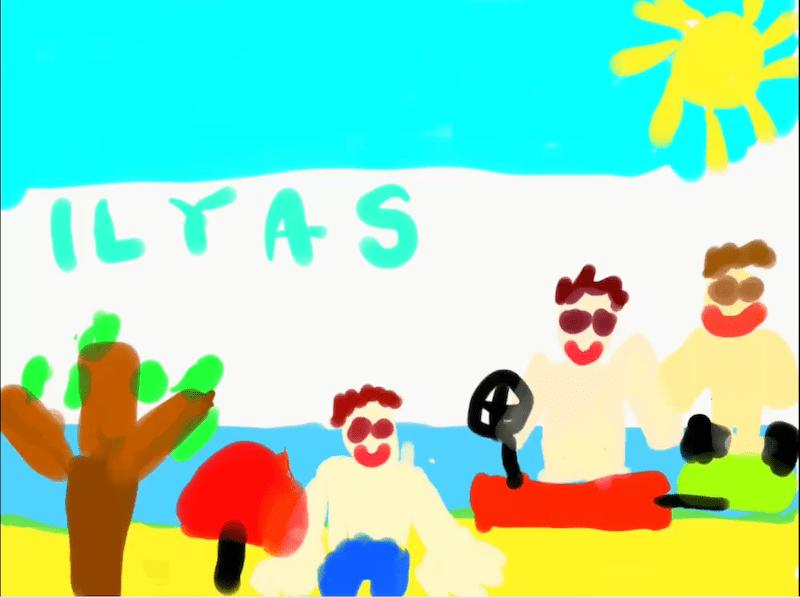Sono al mare – Ilyas 5 anni